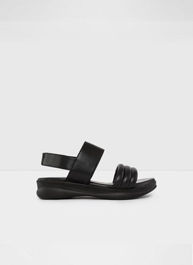 Aldo Wolfsberg-Tr - Siyah Kadin Sandalet Siyah